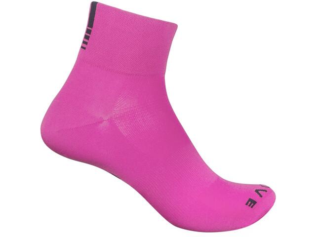 GripGrab Lightweight SL Chaussettes courtes, pink hi-vis